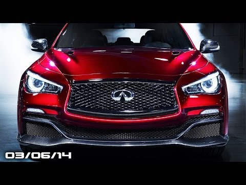 Infiniti Eau Rouge GT-R Sedan, McLaren 650S Spider, Honda Civic Type-R Concept - Fast Lane Daily
