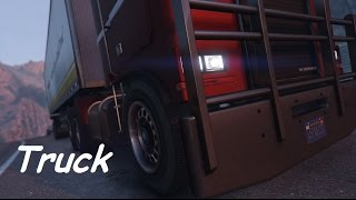 GTA 5: Truck (GTA Vtruck Machinima)