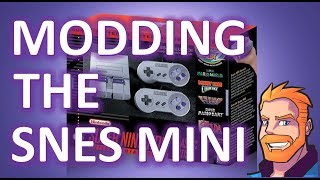 SNES Classic Edition modding! How to mod the SNES Mini with Hakchi2 and RetroArch