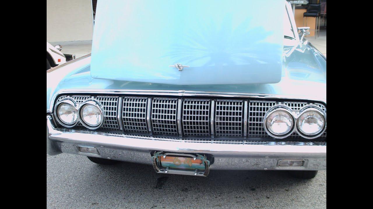 1964 lincoln continental 4 door hardtop blu newsmrn011412 youtube. Black Bedroom Furniture Sets. Home Design Ideas