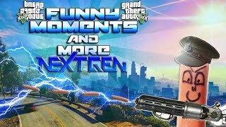 GTA 5 NEXT GEN ( Funny Moments - Music Videos - First Impressions And More)