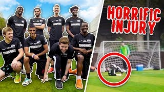 SIDEMEN 6-A-SIDE FOOTBALL *HORRIFIC INJURY*