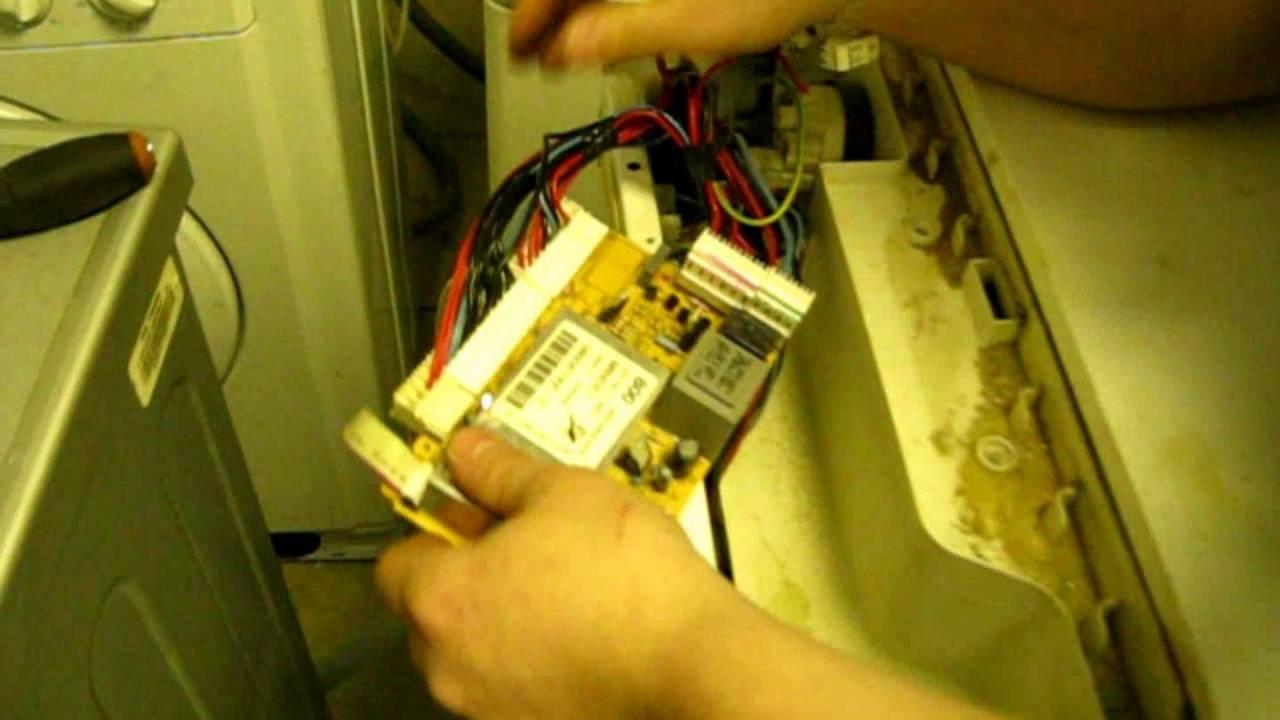 Стиральная машина ardo ремонт своими руками не включается пуск 40
