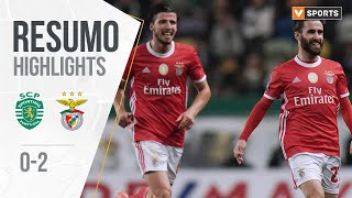 Highlights | Resumo: Sporting 0-2 Benfica (Liga 19/20 #17)