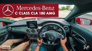 Mercedes Benz CLA 180 AMG POV