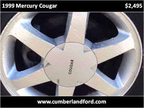 1999 Mercury Cougar Used Cars Middlesboro KY