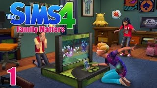 SO MANY KIDS! - Sims 4 - The Sims 4 Family Matters Ep.1