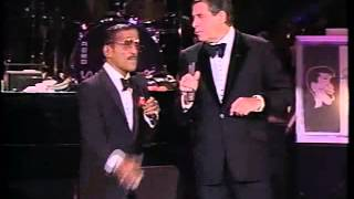 Sammy Davis Jr  & Jerry Lewis - Show Opening w/Pick Yourself Up (part 1)