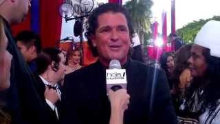 Carlos Vives desde la alfombra roja de Premios Billboard 2013