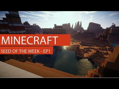 Minecraft Seed of the Week Episode 1 - Mesa Plateau Ravine