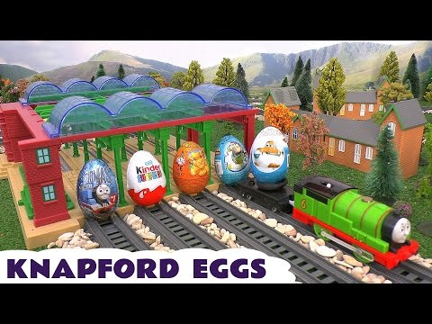 Surprise Eggs Thomas And Friends Play Doh Toy Story Kinder Planes Lion King Spider-man Knapford video