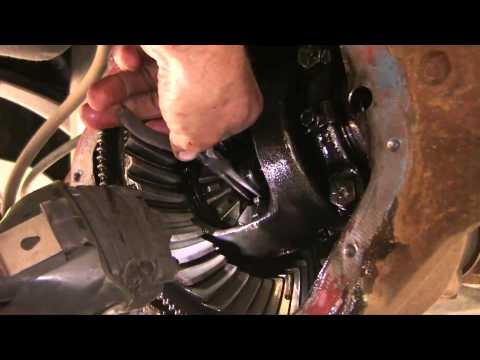 Replace rear axle seal on a Dodge Ram