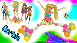 Giant Rollerskate RC Barbie Moves, Does Splits By Remote Control - Video Game Hero Movie Doll