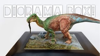 How to make a Diorama Box, Realistic Water & Painting! [Dinosaur & Resin]