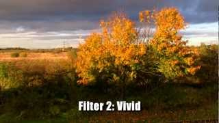 Canon XA10 Cinema Filter Modes (Raw Video Test)
