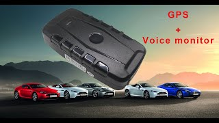 GPS tracker for car GPS locaotor voice monitor Free APP