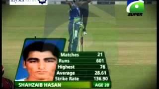Faysal Bank T20 - Shahzaib Hassan