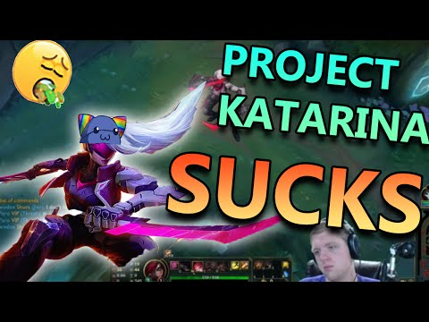 PROJECT KATARINA JUNGLE - League of Legends Commentary