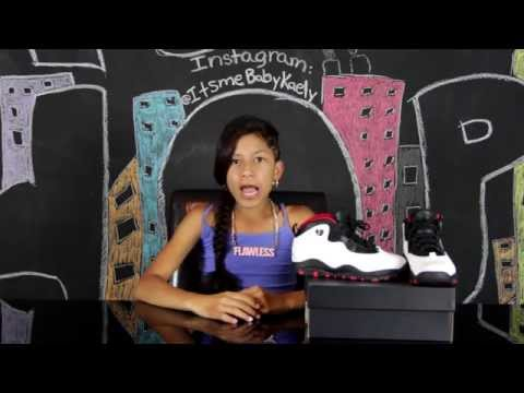 BABY KAELY SNEAKER REVIEW (double nickel retro 10)