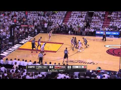 2013 NBA Finals Game 7: Heat Repeat While Duncan Retreats
