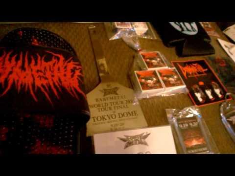 My Babymetal Tokyo Dome souvenir haul! streaming vf