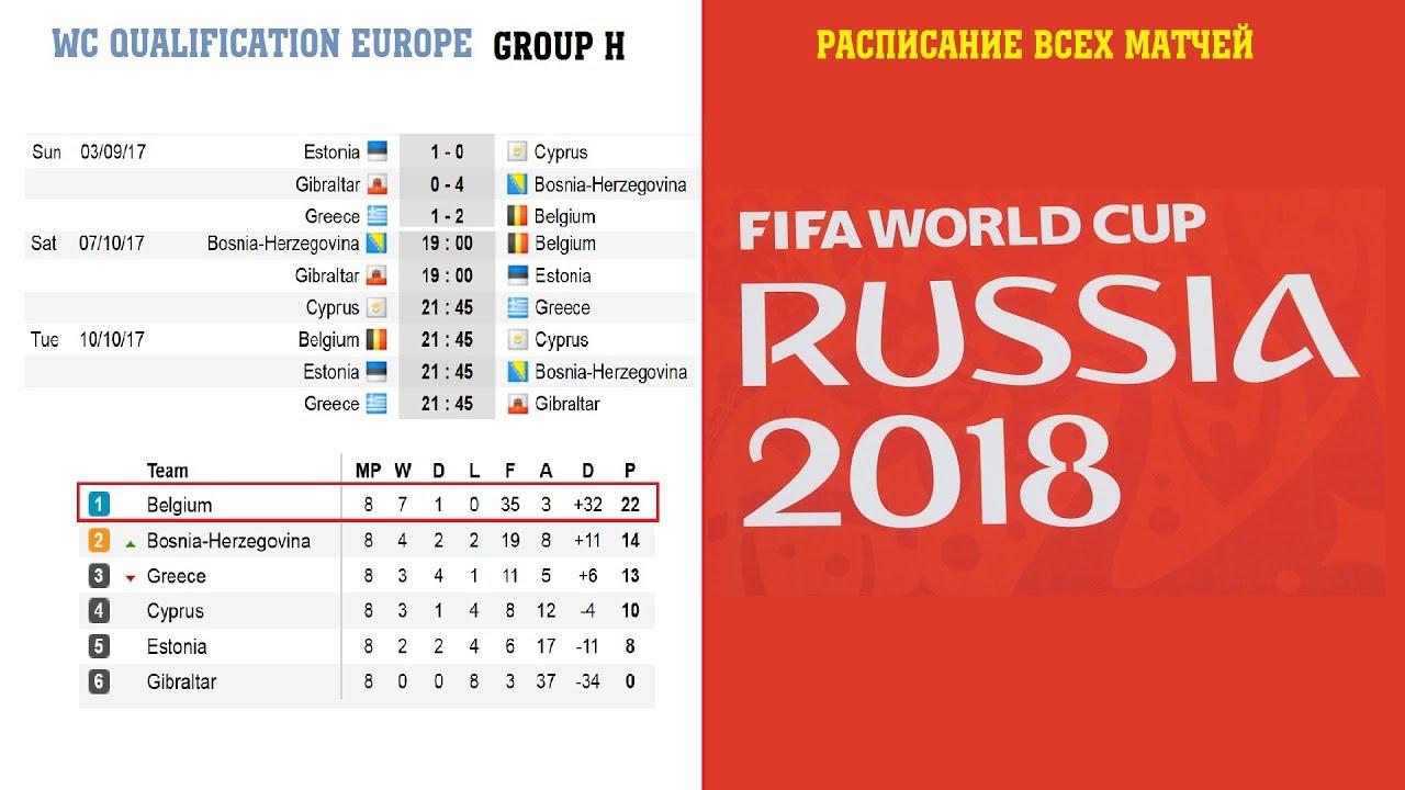 Групповой Этап Чемпионата Мира 2018 Северная Америка
