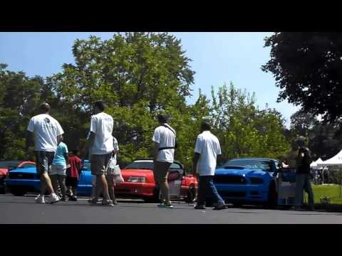 American Muscle Mustang Show 2013 - RC Cam