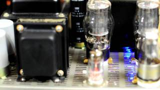 [HD] Home Brew 8 Tubes 6L6GC PP Stereo Amplifier