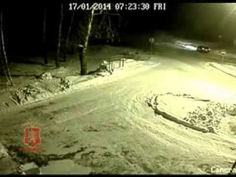 ДТП в Железногорске с участием рейсового автобуса и иномарки
