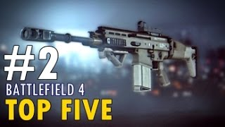 BF4 - TOP FIVE, ASSAULT RIFLE, SCAR-H | #2