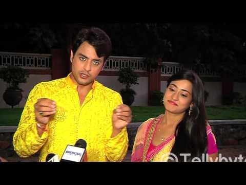 Sher's soft corner for Shraddha From the sets of Piya Rangrez