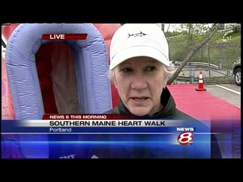 Southern Maine Heart walk raises money, awareness for heart disease