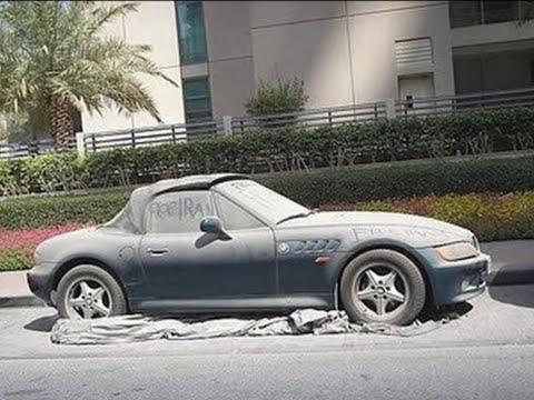 SUPER AUTOS ABANDONADOS EN DUBAI 10-4