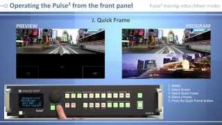 Pulse² - PLS350-3G Training Video: control from front panel