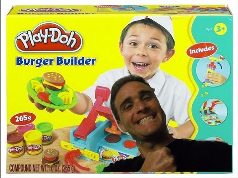 Play Doh Burger Builder!