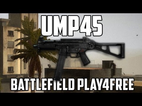 Battlefield Play4free UMP45 Gun Review
