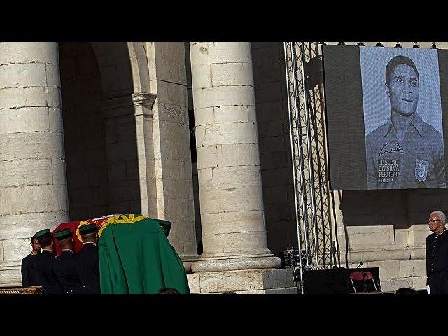 Portugal : Eusébio, repose au Panthéon national