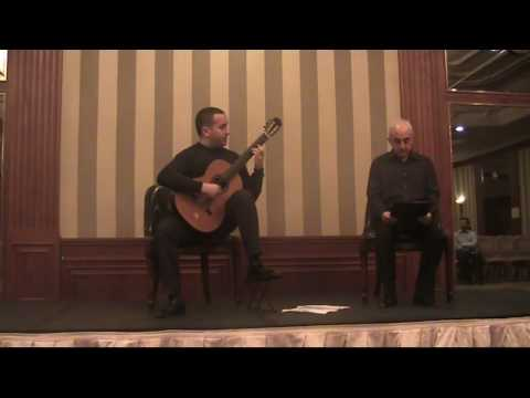 Golondrinas Swallows Platero y Yo Platero and I Castelnuovo-Tedesco - Live 2009 - Dapena guitar