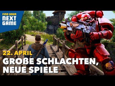 Shooter, RPG, MMO, Warhammer und die wichtigsten Spiele 2021   FYNG: Spring Edition Day 3