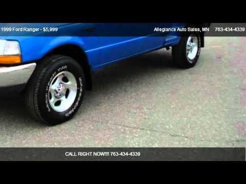 1999 Ford Ranger XLT - for sale in Ham Lake, MN 55304