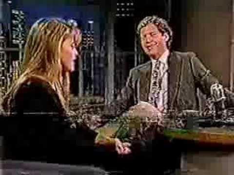 Linda Hamilton on Lettermen