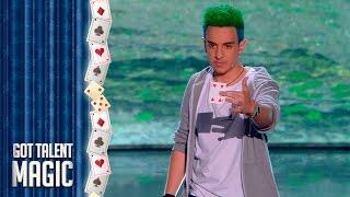 The Roker impresiona con su entrada a lo Harry Potter   Especial Magic   Got Talent España 2017