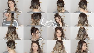 20 QUICK & EASY Fall/Winter Hairstyles | 2017