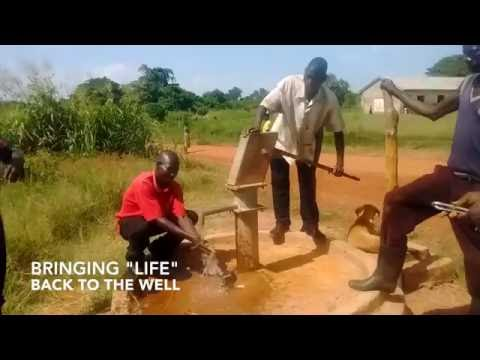 Aid Africa: Borehole Well Repair at Goro Primary School