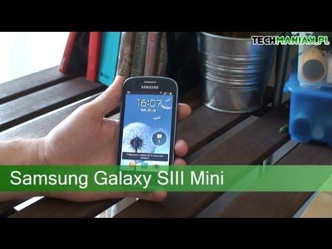 Wideo test i recenzja telefonu Samsung Galaxy S III Mini   techManiaK.pl
