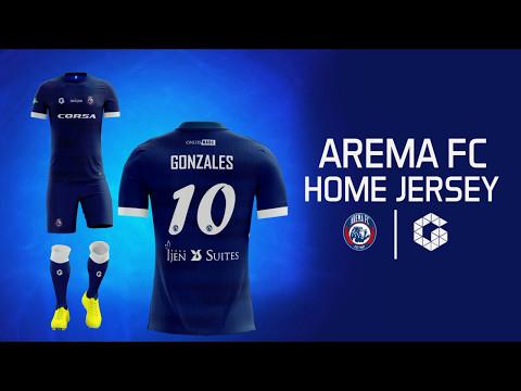 Arema FC Home Jersey (Fantasy)