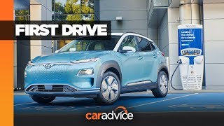 REVIEW: Hyundai Kona Electric hits Australia
