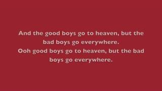 Watch Meat Loaf Good Girls Go To Heaven (bad Girls Go Everything) video