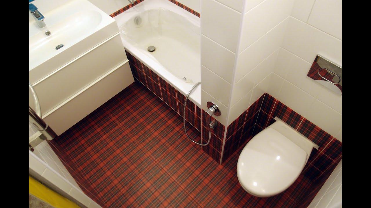 объединяем ванну и туалет фото