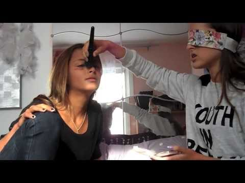 blindfolded make-up (With Moriah)